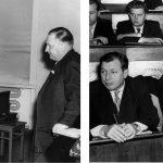 Aufnahmen von einem internationalen Symposium im Jahr 1959.