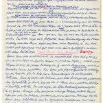 """Auszug aus dem handschriftlichen Manuskript für Schwabes Lehrbuch """"Physikalische Chemie"""""""