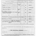 Protokoll über die Diplom-Schlussprüfung von Kurt Schwabe.
