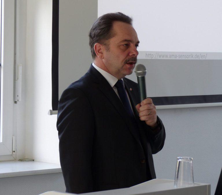 Redner der AMA Herr Peter Krause